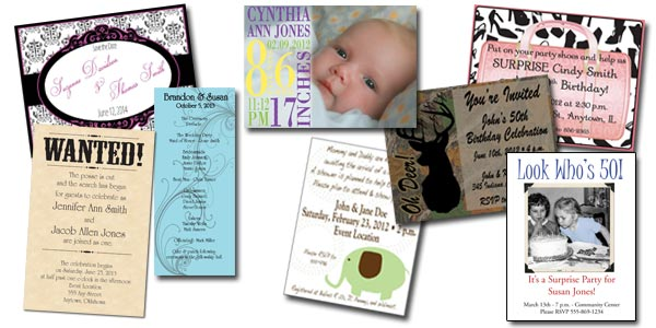 sample invitations