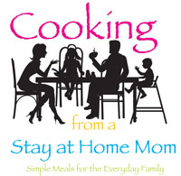 cooking from a stay at home mom, cooking from a sahm, logo design, food blog, tara darcy designs, westfield, il