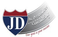 jd and associates consulting, jim dollahan, westfield, il, business logo, logo design, tara darcy designs