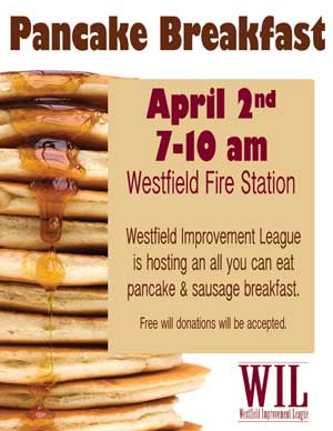 pancake breakfast flier